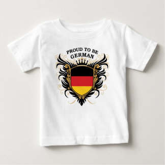Proud to be German Baby T-Shirt