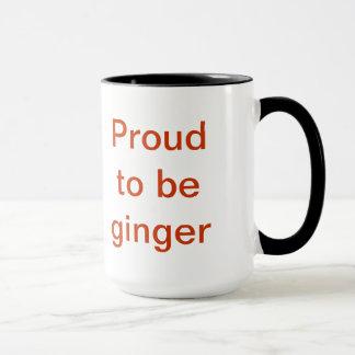 Proud to be ginger mug