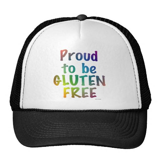 Proud to Be Gluten Free Mesh Hats