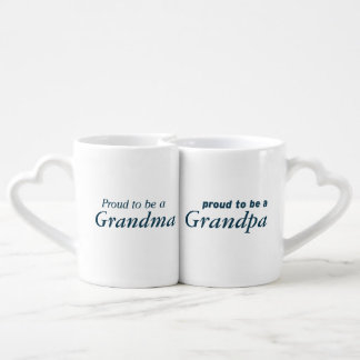 Proud to be Grandparents! Coffee Mug Set