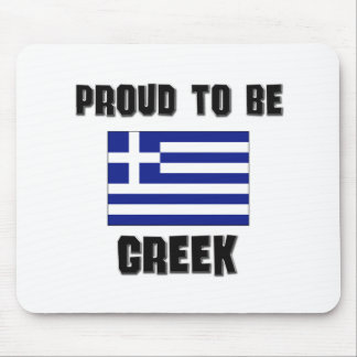 Proud To Be GREEK Mouse Mat