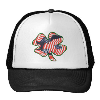 Proud to be Irish American Shamrock Cap