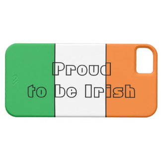 """Proud to be Irish"" Case iPhone 5 Cover"