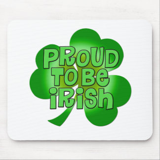 Proud To Be Irish Gifts Mouse Pad