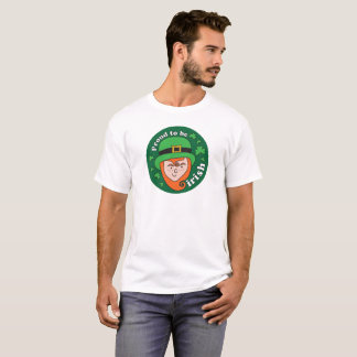 Proud to be Irish - Leprechaun Tshirt