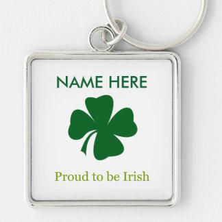 Proud to be Irish Personalized Key Chain