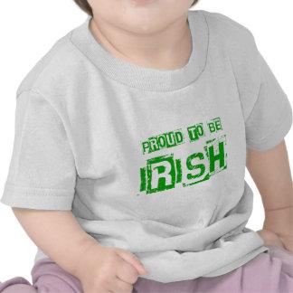 Proud to be Irish St. Patrick day gift Tee Shirts