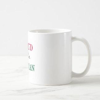 Proud To Be Italian Basic White Mug