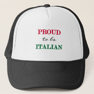 Proud To Be Italian Trucker Hat