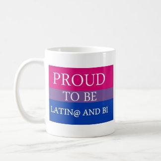 Proud to be Latin@ and Bi Mugs