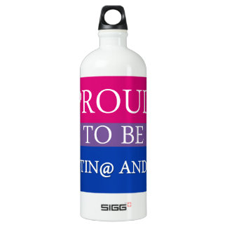 Proud to be Latin@ and Bi SIGG Traveller 1.0L Water Bottle