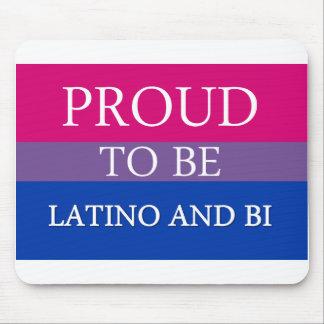 Proud To Be Latino and Bi Mousepad