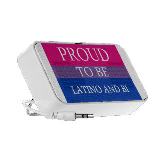 Proud To Be Latino and Bi PC Speakers