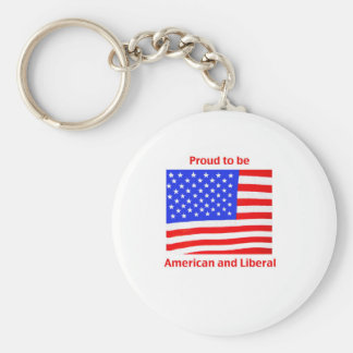 Proud to be Liberal Keychain