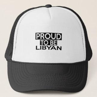 PROUD TO BE LIBYAN TRUCKER HAT