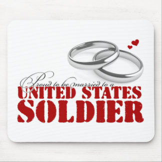 Proud to be married mouse pad