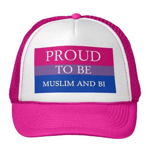 Proud To Be Muslim and Bi Mesh Hats