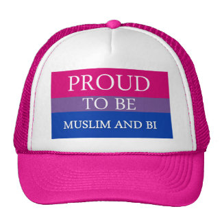 Proud To Be Muslim and Bi Mesh Hats