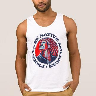 Proud To Be Native American Tanktop