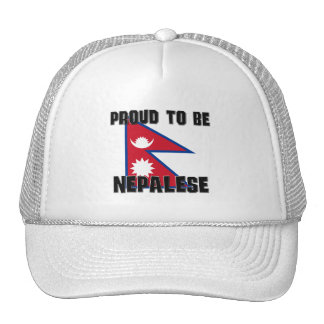 Proud To Be NEPALESE Mesh Hats