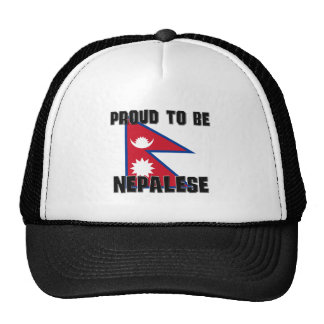 Proud To Be NEPALESE Mesh Hat