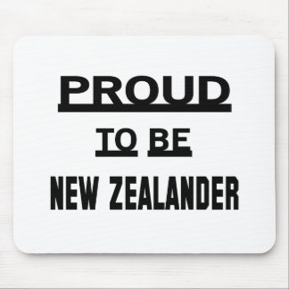Proud to be New Zealander Mouse Pad
