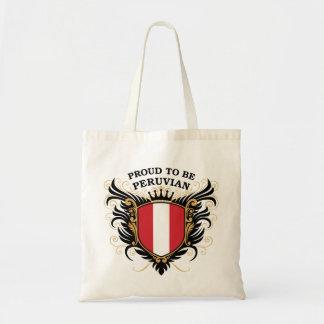 Proud to be Peruvian Tote Bag