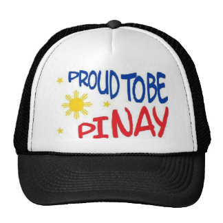 Proud to be Pinay Mesh Hats