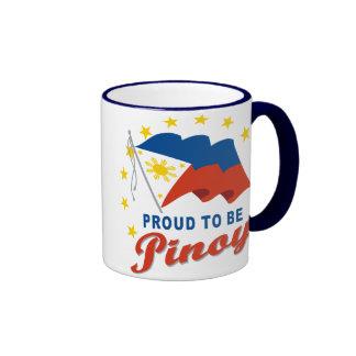 Proud to be Pinoy Ringer Coffee Mug