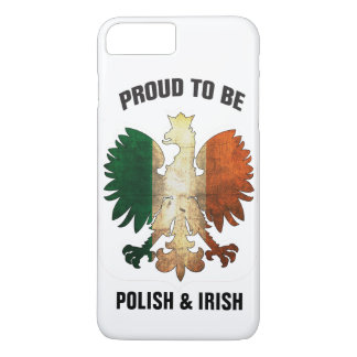 Proud to be Polish and Irish iPhone 7 Plus Case