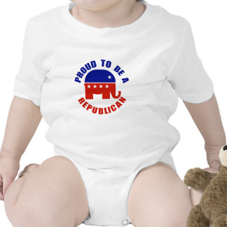 Proud to be Republican Baby Bodysuit