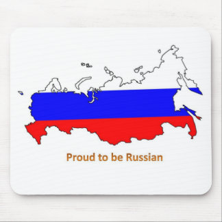 proud to be Russian Mouse Pad