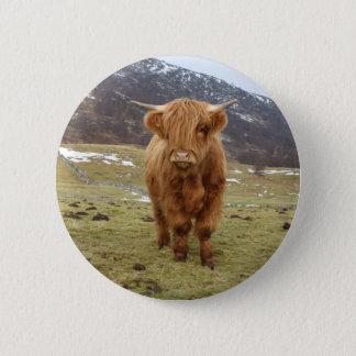 Proud to be Scottish! 6 Cm Round Badge