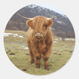 Proud to be Scottish! Classic Round Sticker