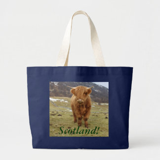 Proud to be Scottish! Large Tote Bag