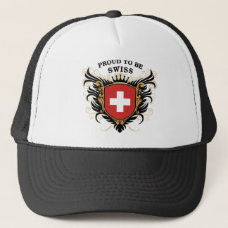 Proud to be Swiss Trucker Hat