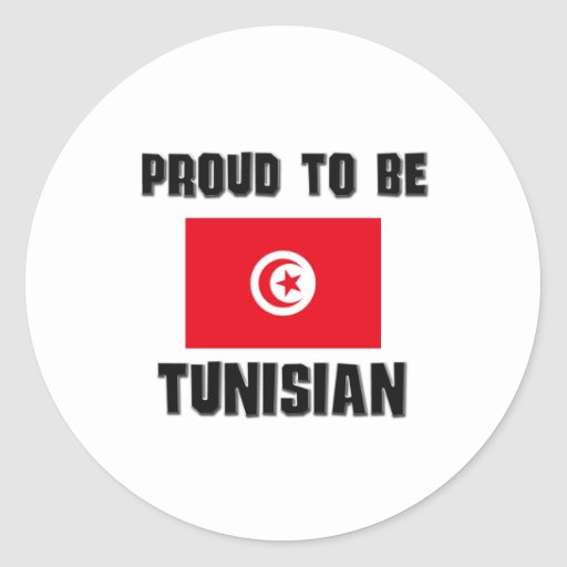 Proud To Be TUNISIAN Sticker