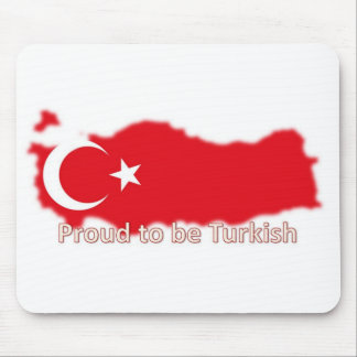 proud to be turkish 7 mouse pad
