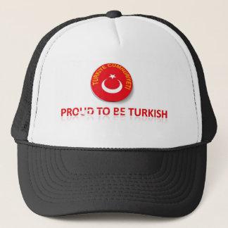 proud to be turkish 8 trucker hat