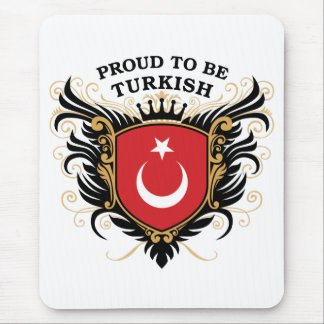 Proud to be Turkish Mouse Mat