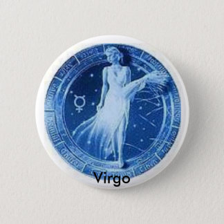 Proud to be Virgo! 6 Cm Round Badge
