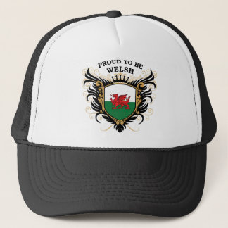 Proud to be Welsh Trucker Hat