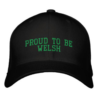 PROUD TO BE WELSH UK EMBROIDERED HAT