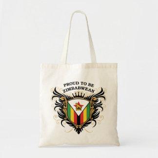 Proud to be Zimbabwean Canvas Bag