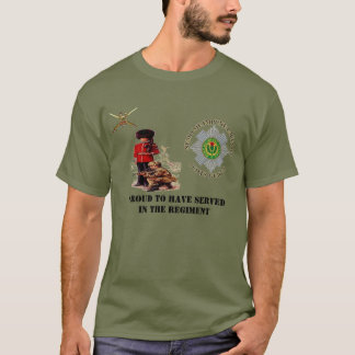 Proud To Have Served In The Regiment Scots Guards T-Shirt