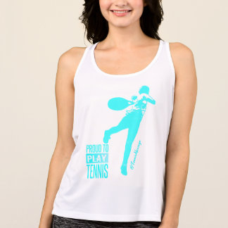 Proud To Play Tennis- Summer Tank Top