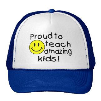 Proud To Teach Amazing Kids Hat
