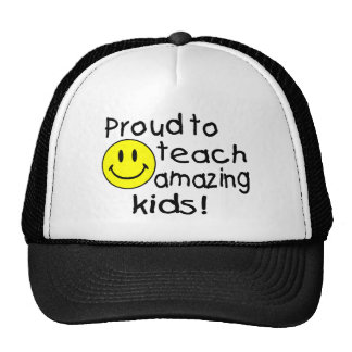 Proud To Teach Amazing Kids Hats