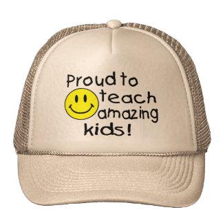 Proud To Teach Amazing Kids Mesh Hats