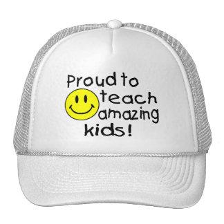 Proud To Teach Amazing Kids Trucker Hats